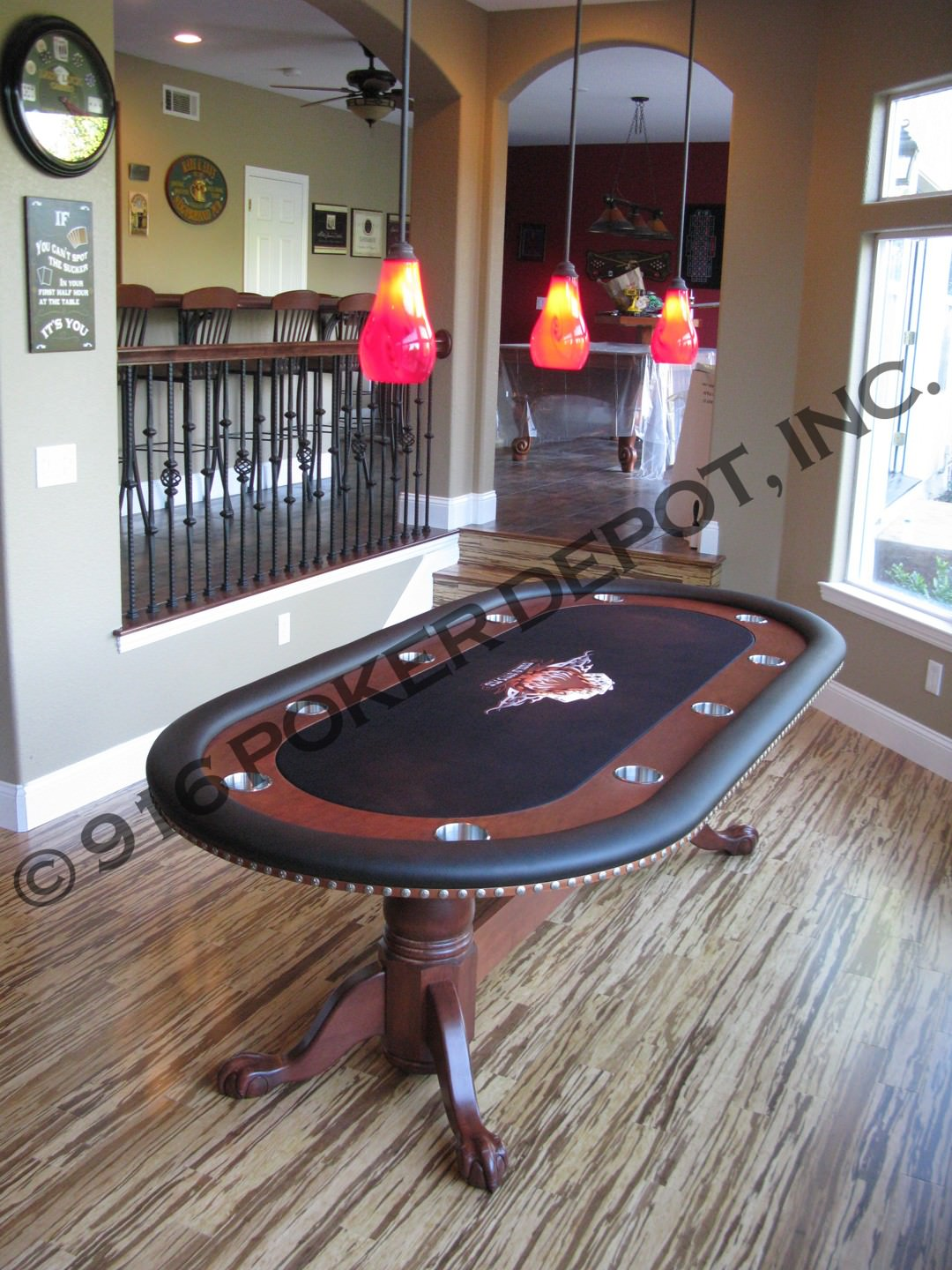 All In Special Custom Poker Table