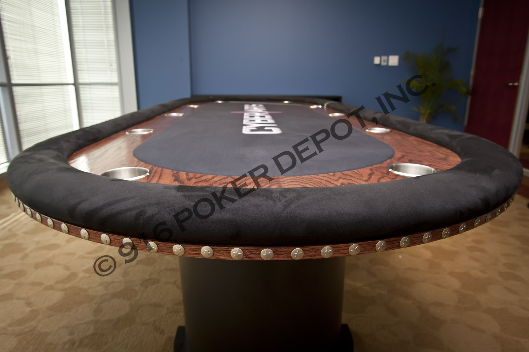 10 Foot Custom Poker Table