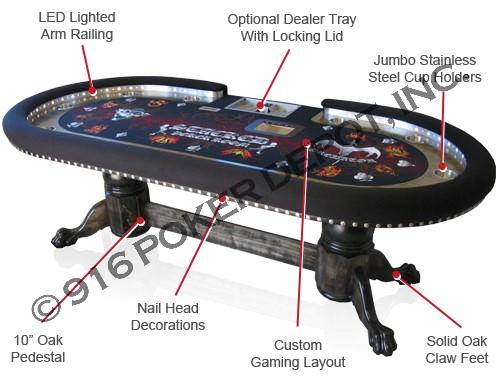 Custom Poker Tables 916 Poker
