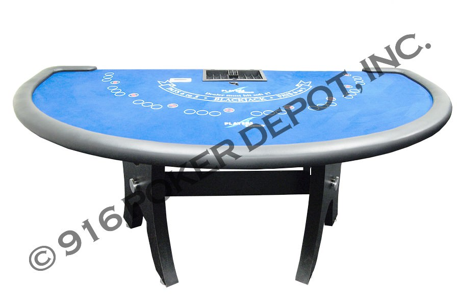 Oversized Blackjack Table with H-Base