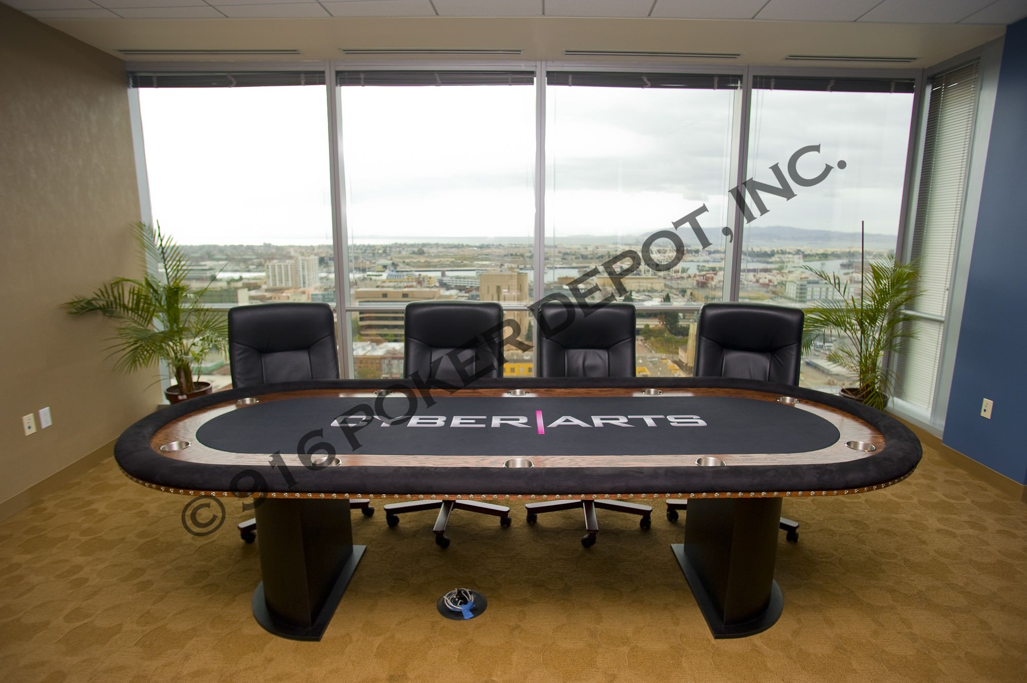 10 Foot Custom Poker TableArts Custom Poker Table
