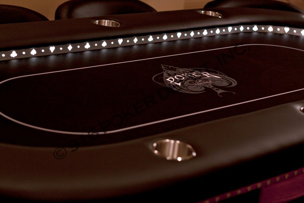 High Stakes Custom Poker Table.