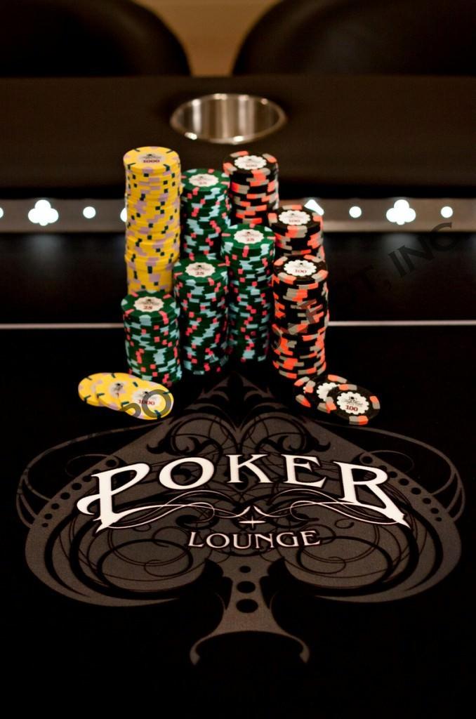 High Stakes Custom Poker Table.