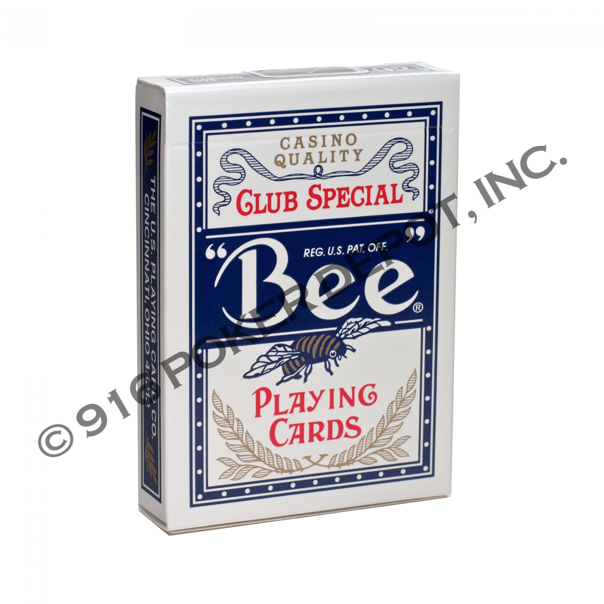 Bee Club Special Playing Cards Blue