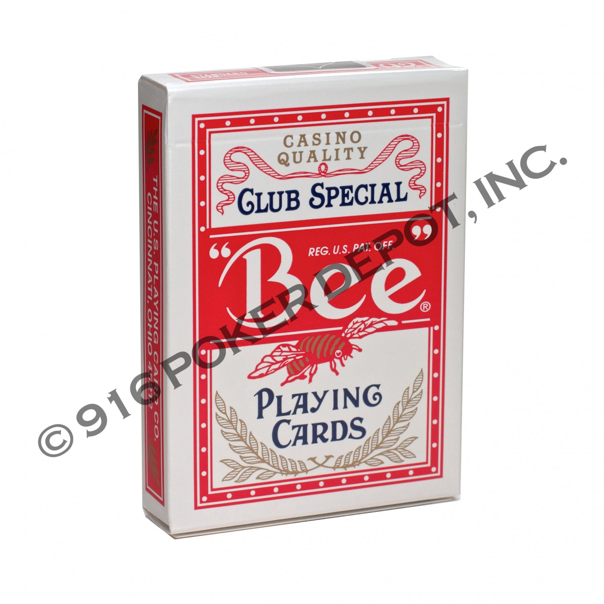 Bee Club Special Playing Cards Red