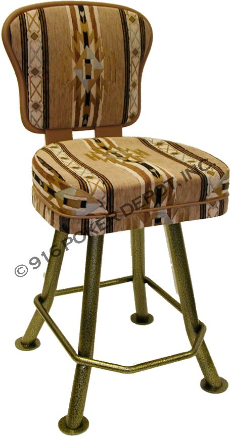 The Parkside Blackjack Stool