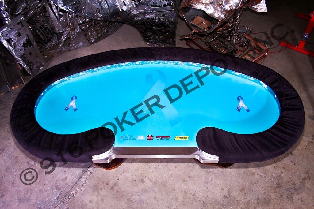 The Jewel Custom Poker Table
