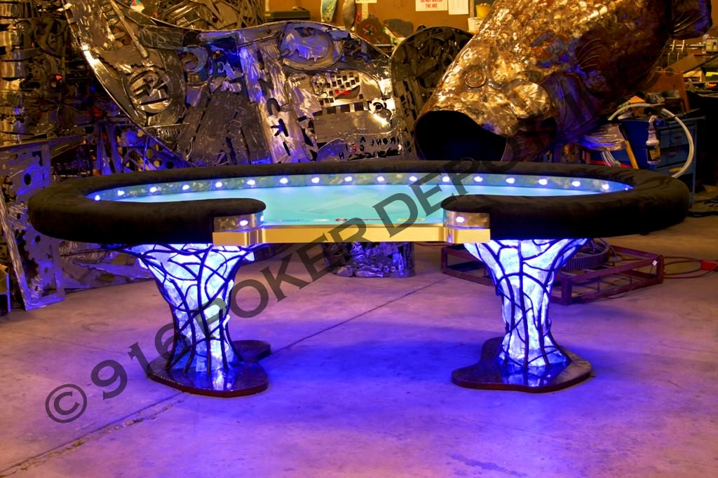 The Jewel Custom Poker Table