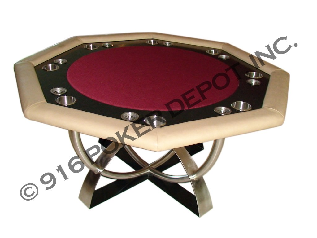 Octagon Custom Poker Table
