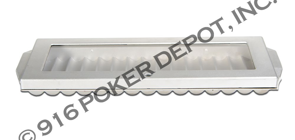 15 Tube Aluminum Chip Tray