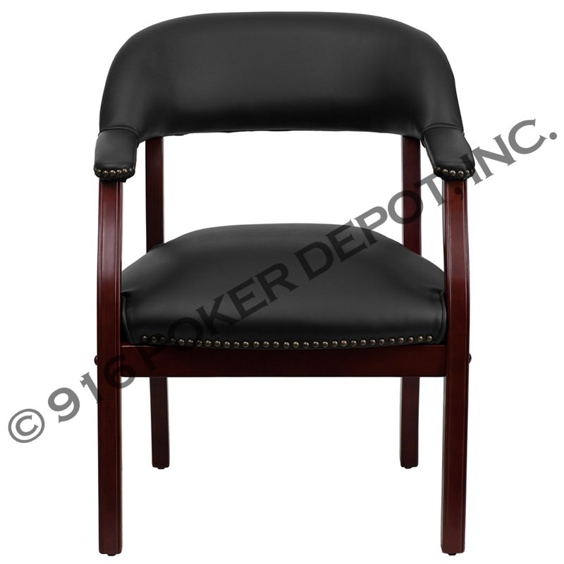 Luxurious Mahogany Poker Chair