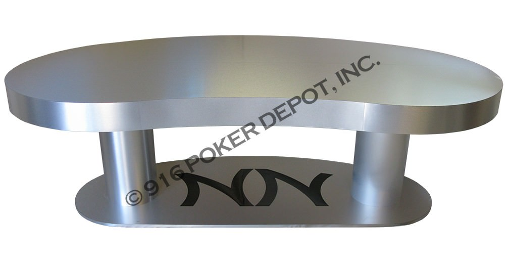 Kidney Bean Shape Custom Poker Table