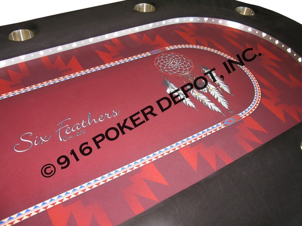 High Stakes Custom Poker Table with Chip Drawer