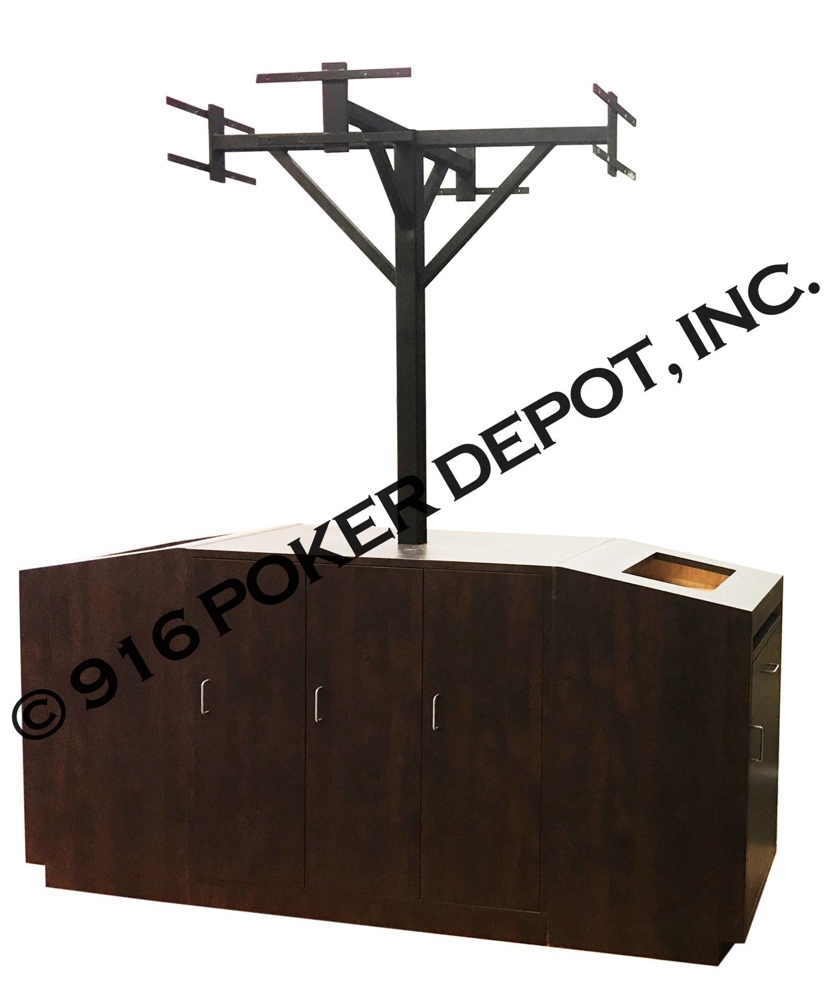 TV Stand Pit Podium