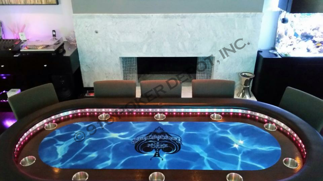 Custom Poker Table