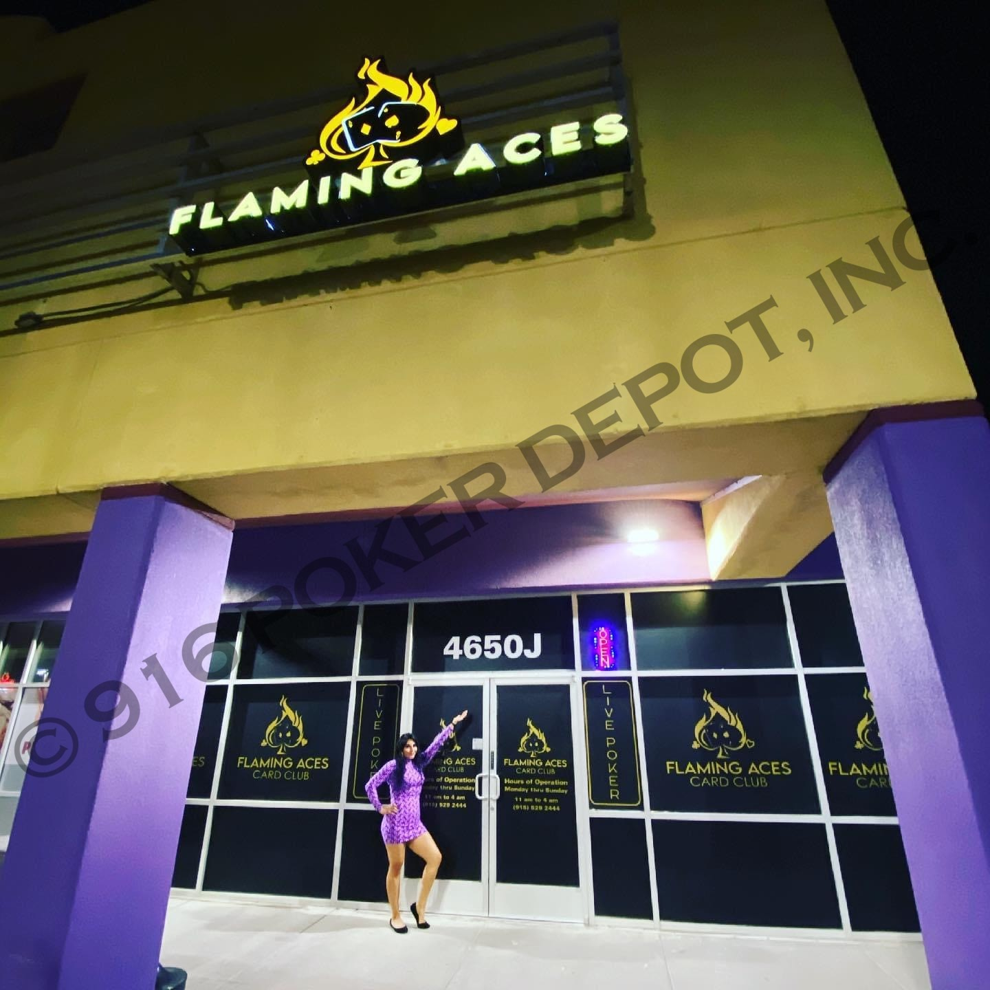 Flaming Aces